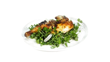 Grilled Chicken with Spring Salad: Part 1