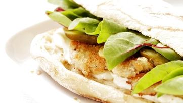 BBQ Chip Schnitzel Sandwich: Part 2