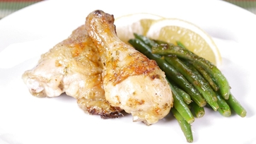 Lemon Chicken w/ Buttered Green Beans: Part 2