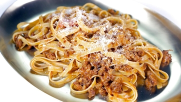 Fettuccine with Sausage Ragu: Part 1