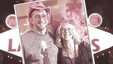 Olivia Newton John & Clinton in Vegas!