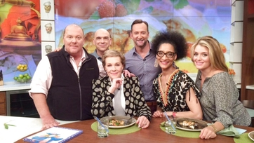 Julie Andrews Stops by The Chew
