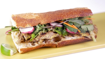 Beef Satay Sandwich: Part 2