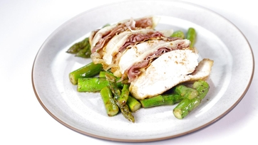 Lemon Butter Chicken with Asparagus: Part 1
