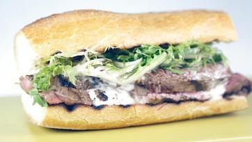 Grilled Steak & Fondue Sandwich: Part 1