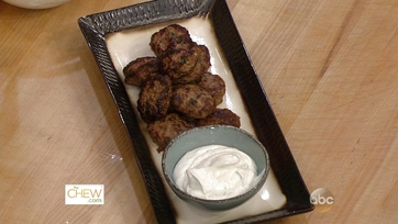 Kofte Bites with Yogurt Honey Dip: Part 2