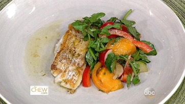 Seared Cod with Watercress Salad: Part 1