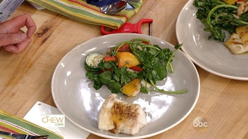 Seared Cod with Watercress Salad: Part 2