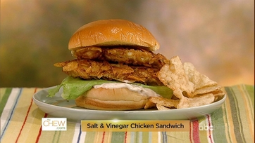 Salt and Vinegar Chicken Sandwich