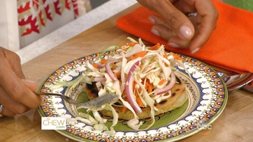 Pupusas with Spicy Slaw: Part 2