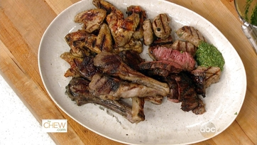 Mixed Grill with Salsa Verde: Part 2