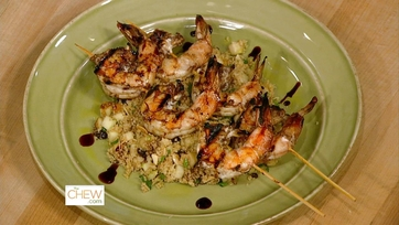 Lemon Balsamic Shrimp: Part 1