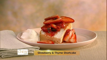 Strawberry & Thyme Shortcake: Part 1