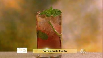 Pomegranate Mojito