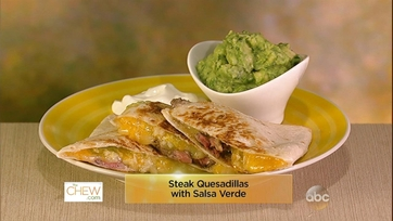 Steak Croquettes & Steak Quesadilla with Salsa Verde: Part 1