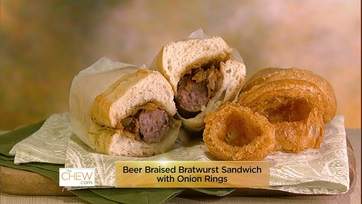 Beer Bratwurst Sandwich & Onion Rings: Part 1