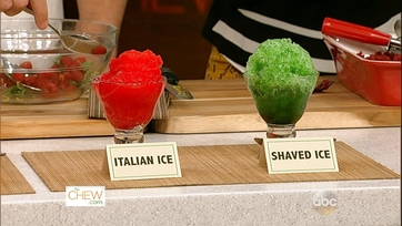 Chew Tips: Sorbet vs. Sherbet & Italian Ice vs. Shaved Ice