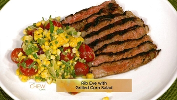 Grilled Rib Eyes with Grilled Corn Salad: Part 1