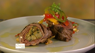 Grilled Steak with Charred Corn & Pepper Salad: Part 1
