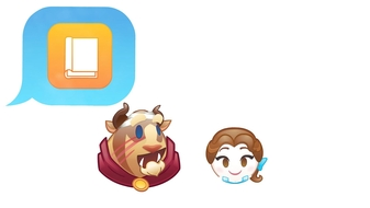 Beauty and the Beast as Told by Emoji, Part 2