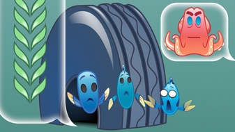 Finding Dory as Told by Emoji, Part 2