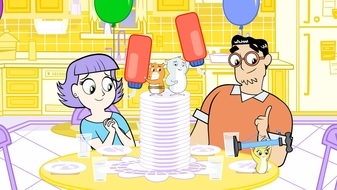 S1 E1: Happy Bounciversary / Say it, Don\'t Spray it