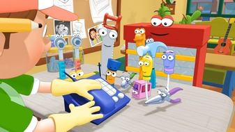 Handy Manny School for Tools: A Small Job