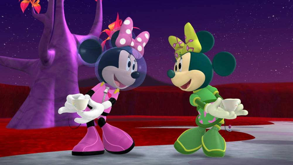 S4 E25: Martian Minnie\'s Tea Party