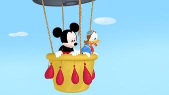 Donald\'s Big Balloon Race