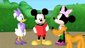 Mickey\'s Treasure Hunt