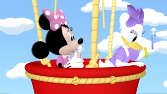 Minnie and Daisy\'s Flower Shower