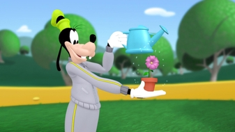 Mickey Mouskersize: Goofy\'s Sprinkling Can