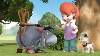 S2 E15: Darby\'s Pony / Rabbit\'s Not So Scary-Crow