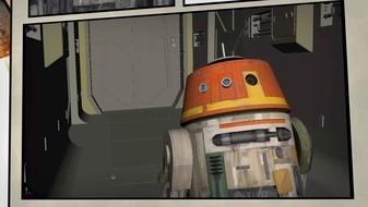 Meet Chopper, Grumpy Astromech Droid