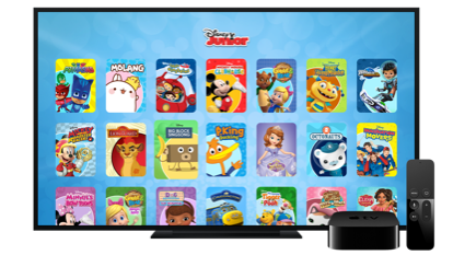 Watch DisneyNOW on AppleTV | Image