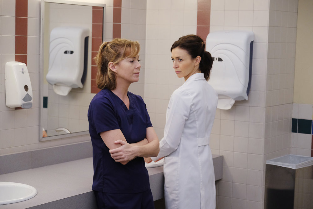Grey\'s Anatomy Sneak Peek: Can Meredith Work with Penny? | Grey\'s ...