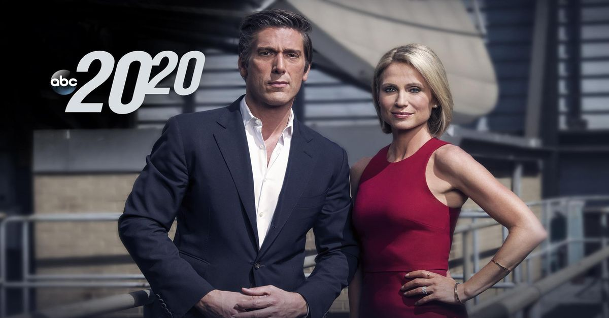 20/20 Full Episodes | Watch the Latest Online - ABC com