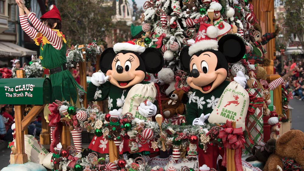 Does Usps Run On Christmas Eve.Watch The Disney Parks Magical Christmas Day Parade December