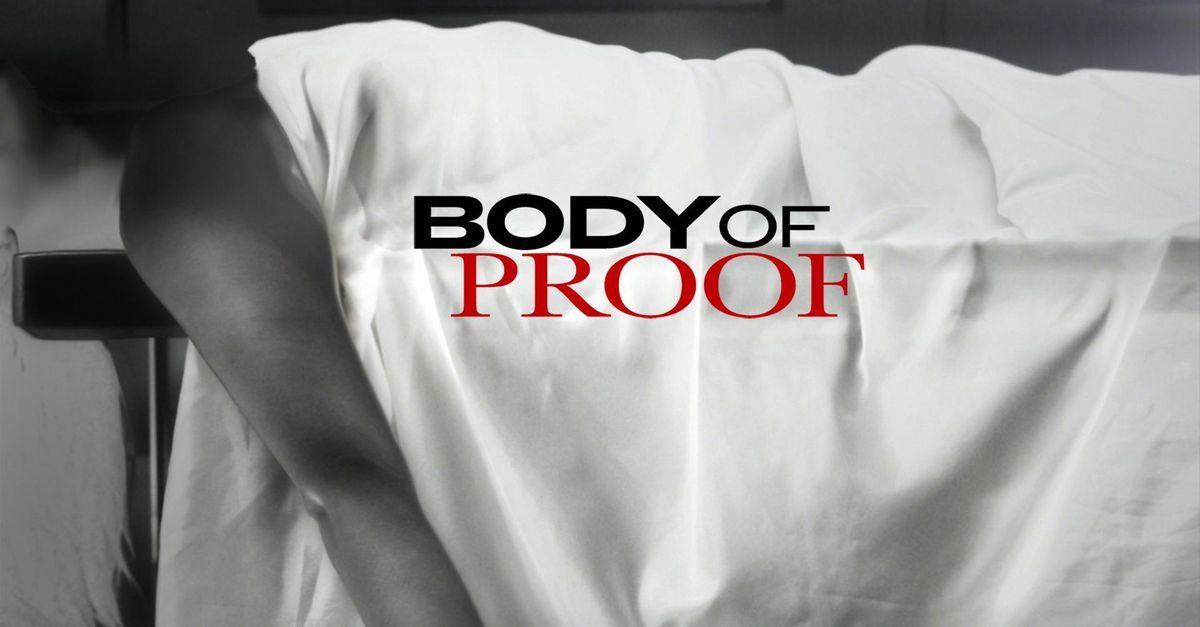 Body Of Proof Besetzung