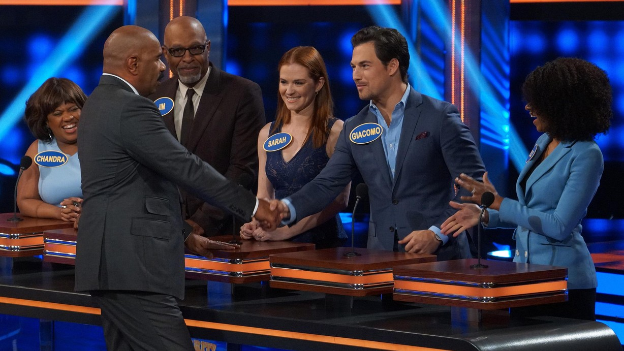Celebrity Family Feud TV Show on ABC: Ratings (Cancelled ...