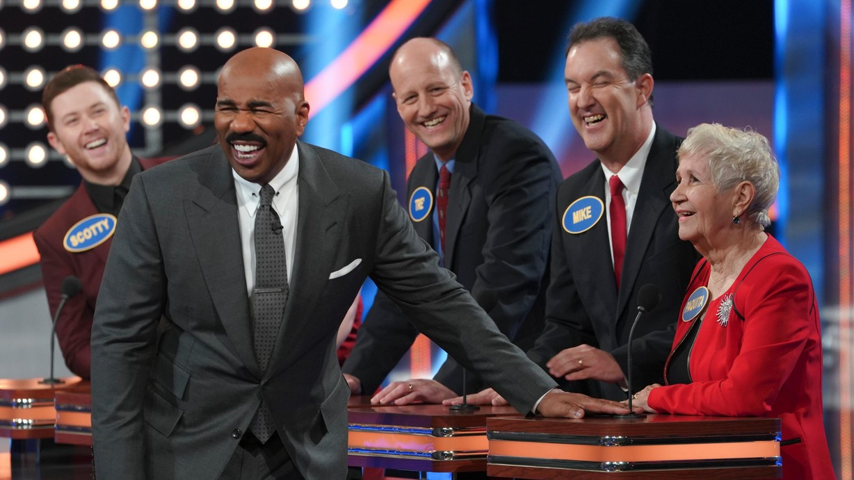 TV Stars and More on Celebrity Family Feud on ABC; NBC ...