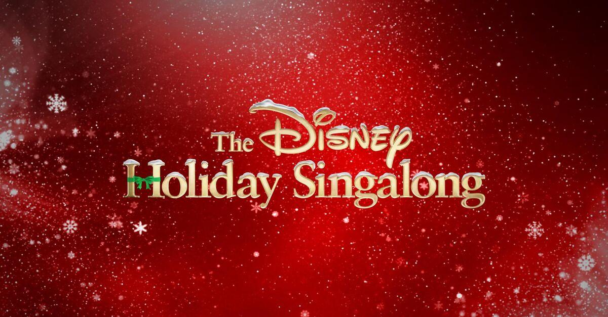 Watch The Disney Holiday Singalong TV Show - ABC.com