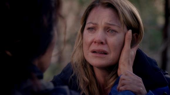 WATCH: Meredith Fears Derek Is Dead after the Plane Crash ...