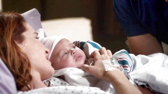 WATCH: April & Jackson's Beautiful Baby Girl Video | Grey ...