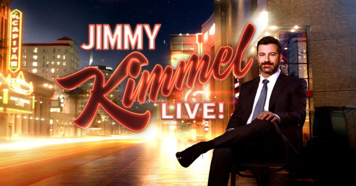 About Jimmy Kimmel Live Tv Show Series