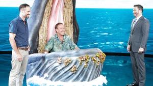 Jimmy Kimmel Interviews Man Swallowed By a Whale