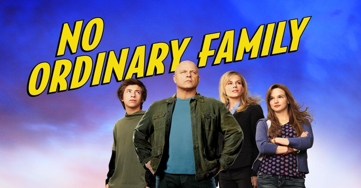 No Ordinary Family Sottotitoli - Sub Ita - Trama - Cast ...