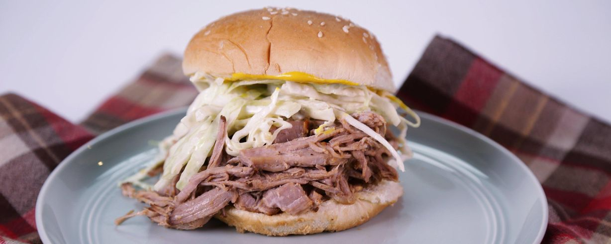The Chew | Slow Cooker Georgia Pulled-Pork Barbecue
