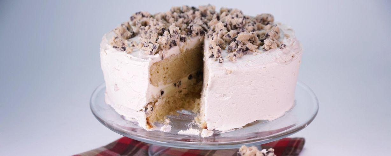 Choco Chip Cookie Dough Layer Cake Recipe The Chew Abc