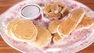 Pancake dippers recipe the chew abc pancake dippers ccuart Gallery